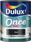 Dulux Once Gloss Colours 750ml